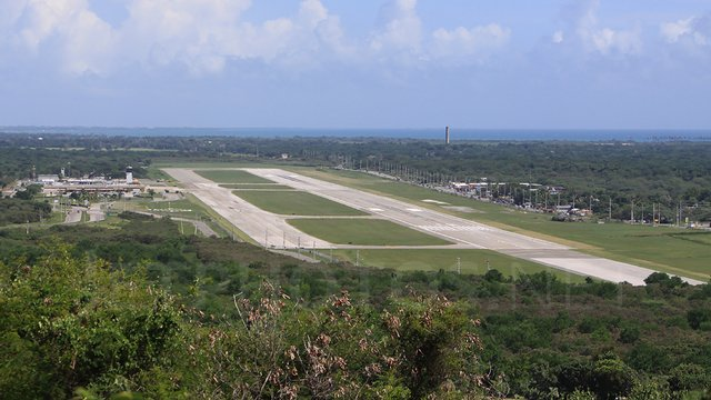 A view from Ponce Mercedita Airport