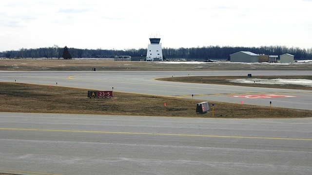 A view from Saginaw MBS International Airport