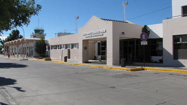 A view from Trelew Almirante Marco Andres Zar Airport