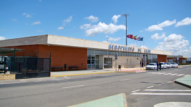 A view from Leon Airport