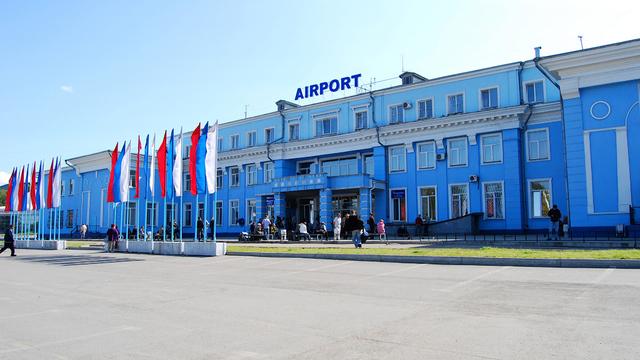 A view from Irkutsk International Airport