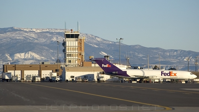 A view from Grand Junction Regional Airport