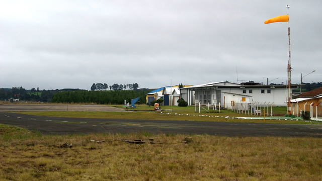 A view from Lages Airport