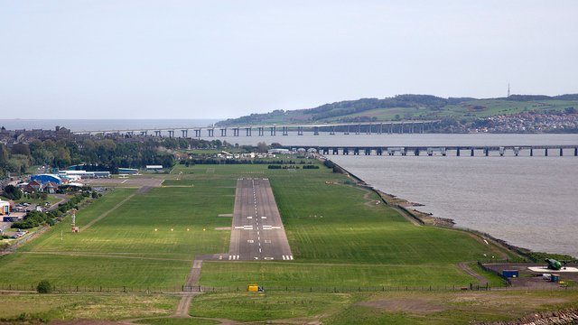 A view from Dundee Airport
