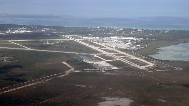 A view from Nassau Lynden Pindling International Airport