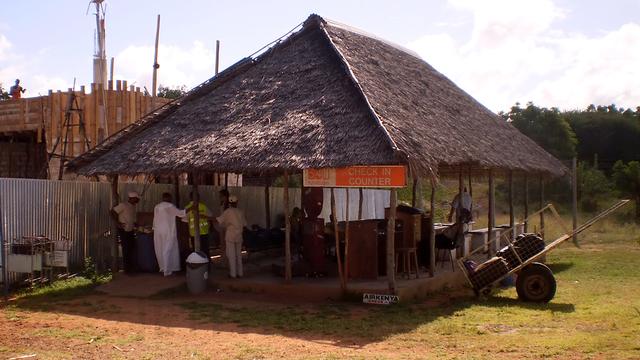 A view from Lamu Manda Airport