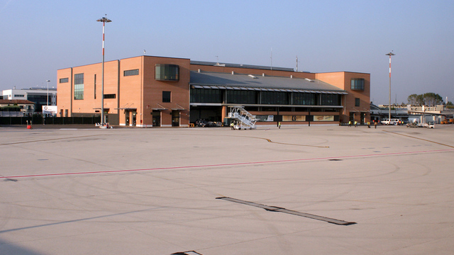 A view from Treviso Airport