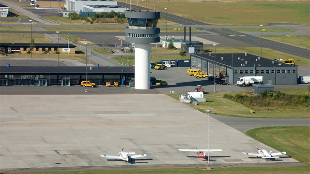 A view from Roskilde Airport