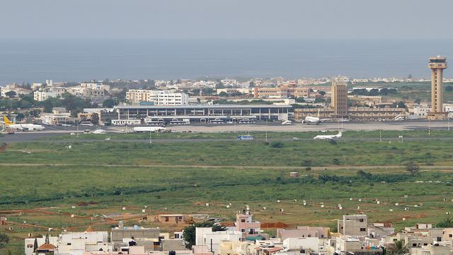 A view from Dakar International Airport