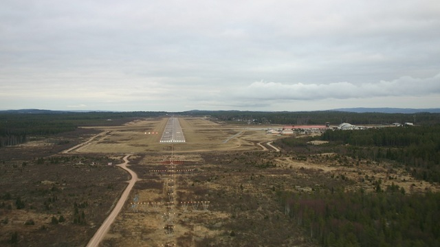 A view from Jonkoping Airport