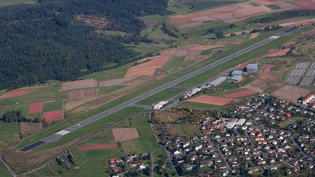 A view from Allendorf Airport