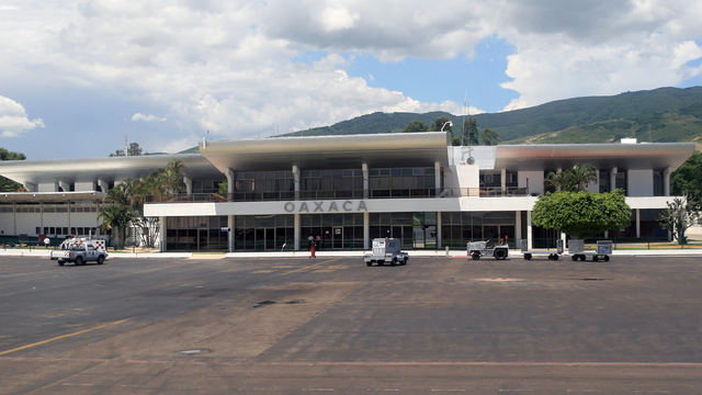 A view from Oaxaca Xoxocotlan International Airport