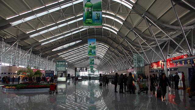 A view from Zhengzhou Xinzheng International Airport