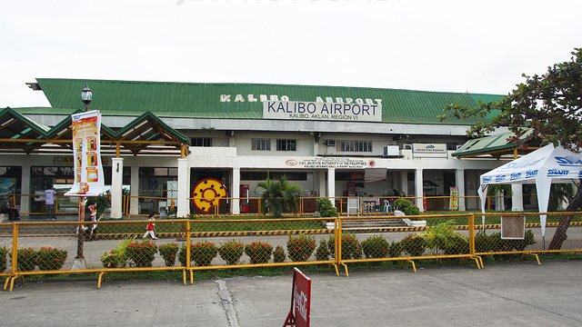 A view from Kalibo International Airport