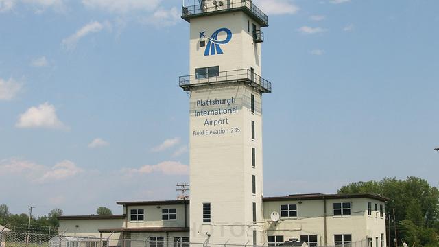 A view from Plattsburgh International Airport