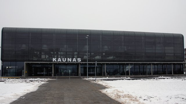 A view from Kaunas Airport