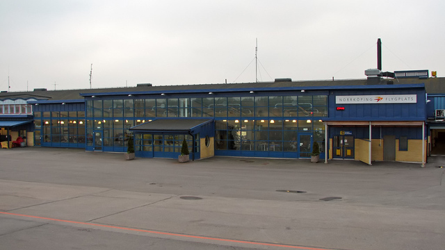 A view from Norrkoping Airport