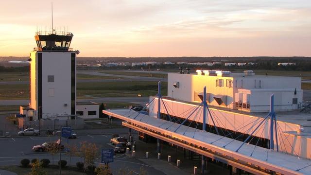 A view from Portland International Jetport