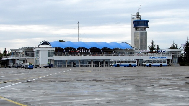 A view from Burgas Airport