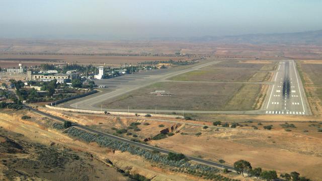 A view from Tlemcen Zenata Airport