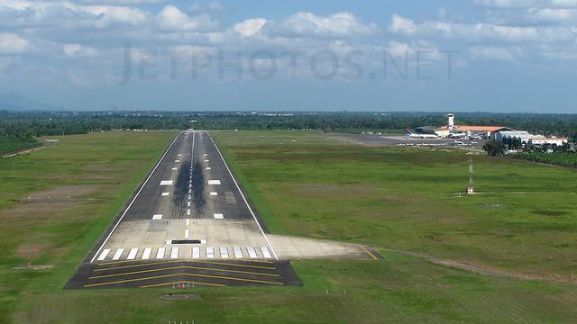 A view from Santiago de los Caballeros Cibao International Airport