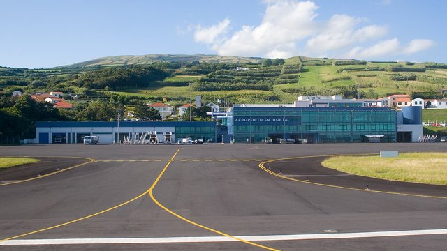 A view from Horta Airport