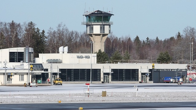 A view from Vaasa Airport