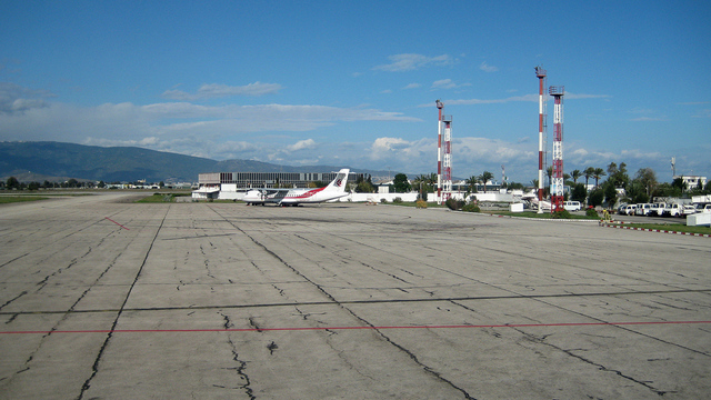 A view from Annaba Rabah Bitat Airport