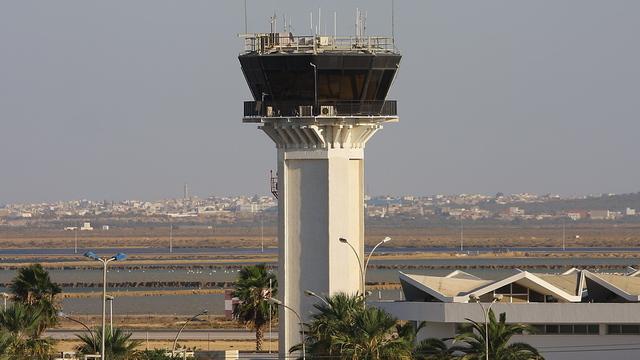 A view from Monastir Habib Bourguiba International Airport