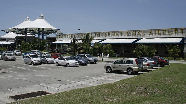 A view from Bridgetown Grantley Adams International Airport