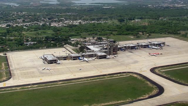 A view from Barranquilla Ernesto Cortissoz International Airport