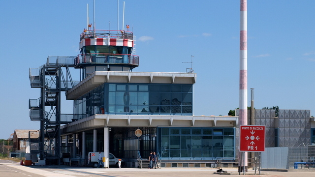A view from Foggia Gino Lisa Airport