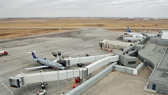 A view from Saskatoon John G. Diefenbaker International Airport