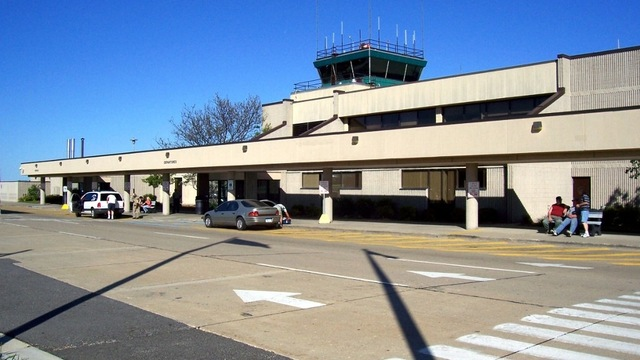 A view from Kalamazoo Battle Creek International Airport