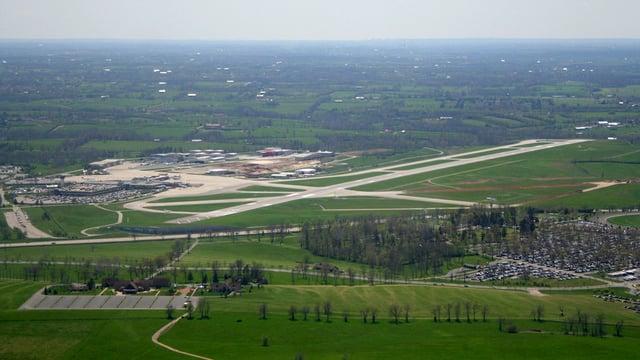 A view from Lexington Blue Grass Airport
