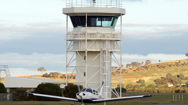 A view from Wagga Wagga Airport
