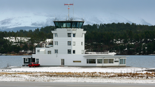 A view from Molde Aro Airport