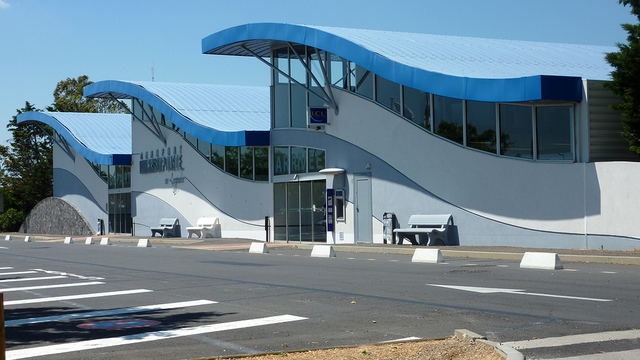 A view from Beziers Cap d'Agde Airport