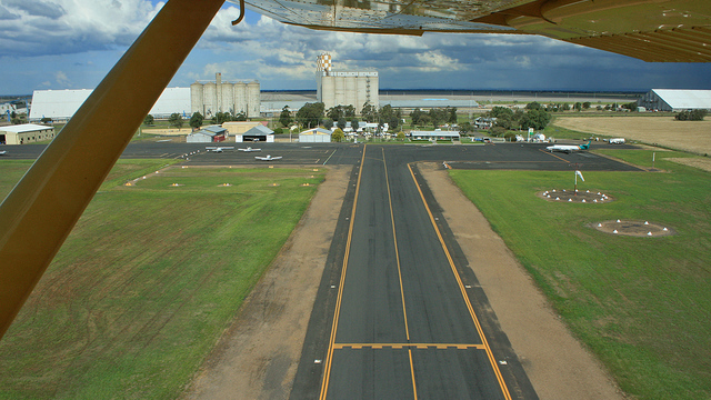 A view from Moree Airport