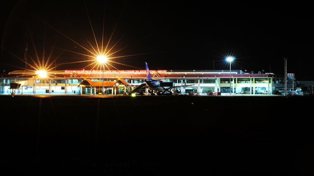 A view from Chiang Rai International Airport