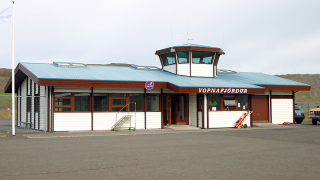 A view from Vopnafjordur Airport