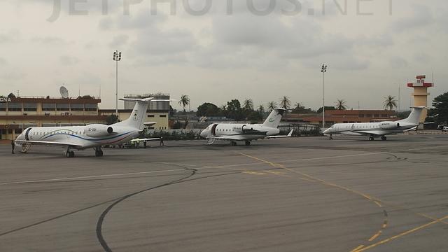 A view from Abidjan Port Bouet Airport