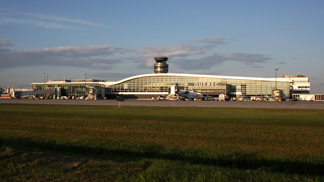 A view from Quebec City International Airport