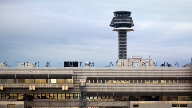 A view from Stockholm Arlanda Airport