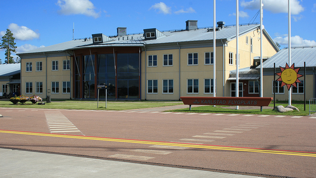 A view from Karlstad Airport