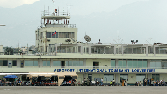 A view from Port-au-Prince Toussaint Louverture International Airport