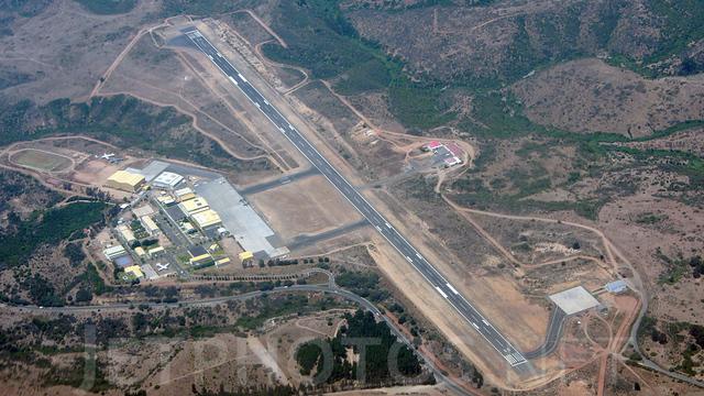 A view from Viña del mar Airport