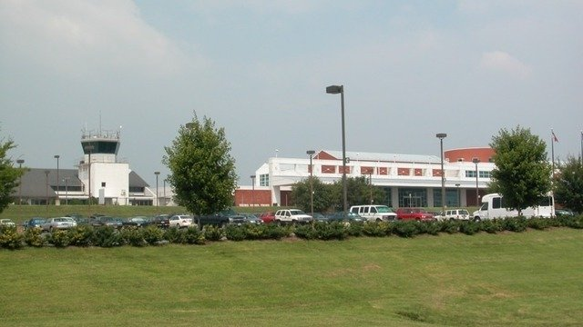 A view from Charlottesville Albemarle Airport