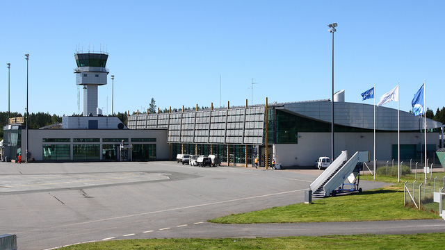 A view from Tampere Pirkkala Airport