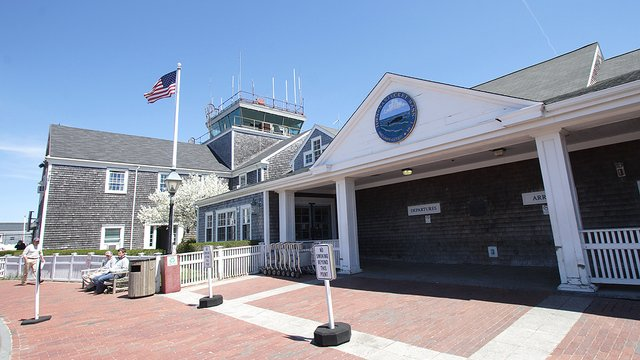 A view from Nantucket Memorial Airport